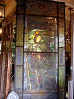 Leadlight door with stained glass.jpeg