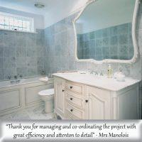 French Provincial bathroom renovation in Sydney
