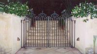 Finely detailed bronze gates.jpeg